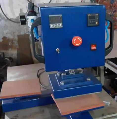 Automatic Double Bed Heat Press Machine-IMI-88ADB