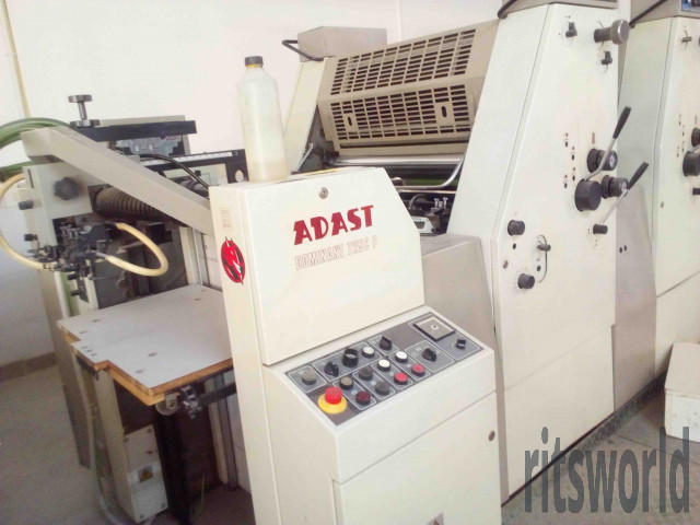 Adast  Dominant 725C, 1998 Offset Printing Machine