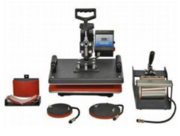 5 In 1 Basic Combo Heat Press Machine 12x15