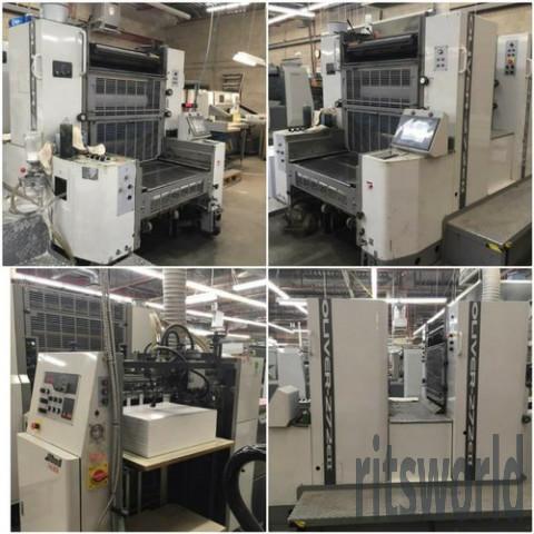 Oliver Mini Offset Printing Machine