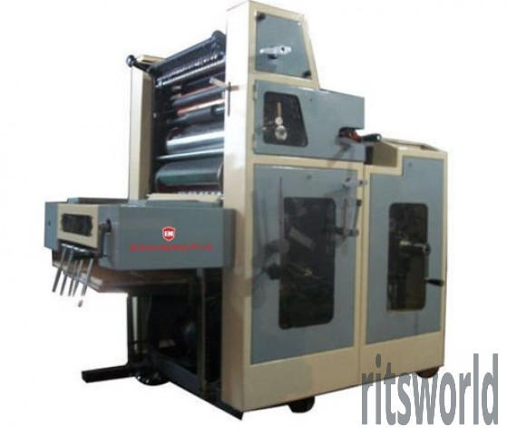 Single Color 3 In 1 Offset Printing Machine