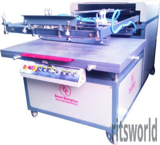 Sunpack Board Flatbed Screen Printing Machine