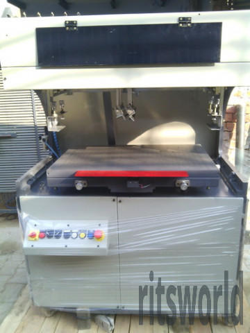 Scale Flatbed Screen Printing Machine