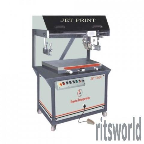 Wedding Card Flatbed Screen Printing Machine