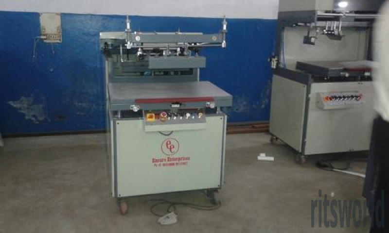 Marriage Card-Visiting Card Flatbed Screen Printing Machine