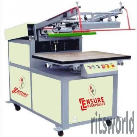 Paper Bag Flatbed Screen Printing Machine