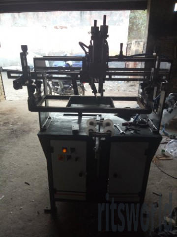 Semi Automatic EE-RS150SD Round Screen Printing Machine