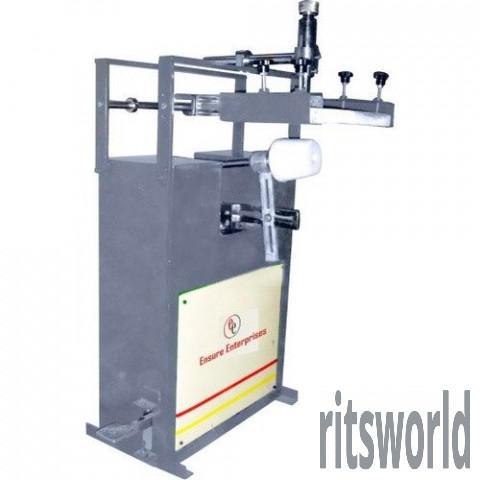 Manual EE-RS-150 Round Screen Printing Machine