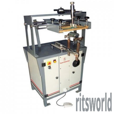 Small EE-RS 100 Round Screen Printing Machine