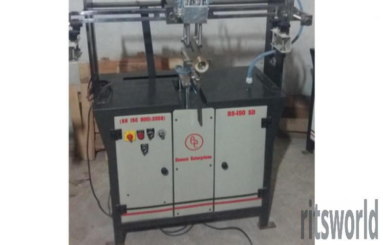 Pen Manual Round Screen Printing Machine