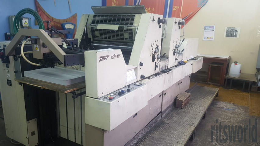 Polly 725, 1996 Sheetfed Offset Printing Machine