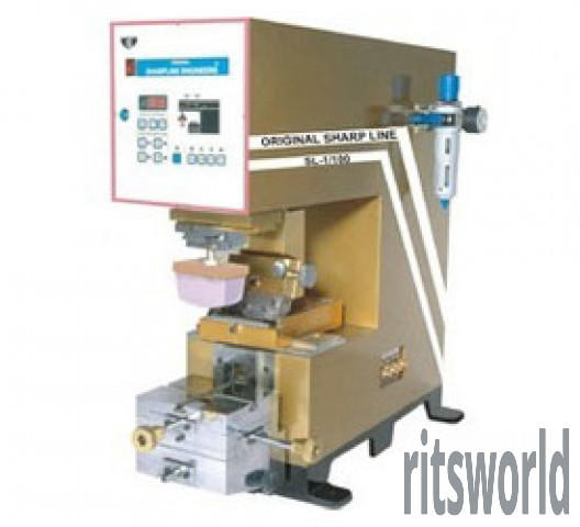 Single Color Open Ink Well Pad Printing Machine