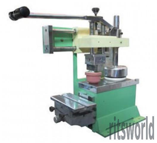 Manual Close Ink Cup Pad Printing Machine