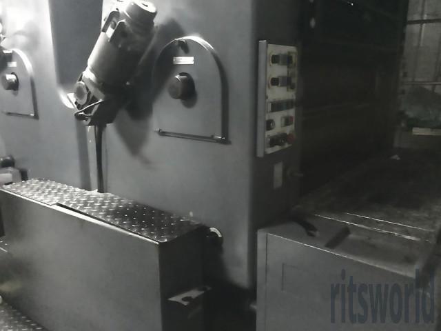 Heidelberg SORSZ, 1992 Offset Printing Machine