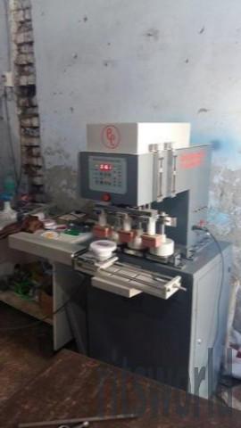 Three Color Pneumatic Pad Printing Machine