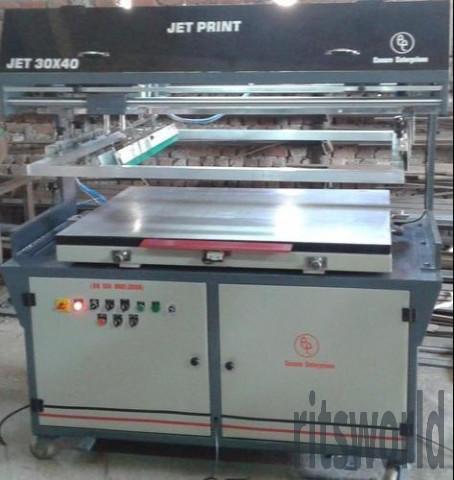 Combo Jet Flatbed Screen Printing Machine