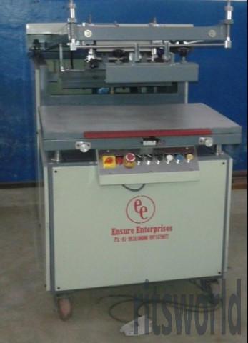 Clamshell Flatbed Screen Printing Machine