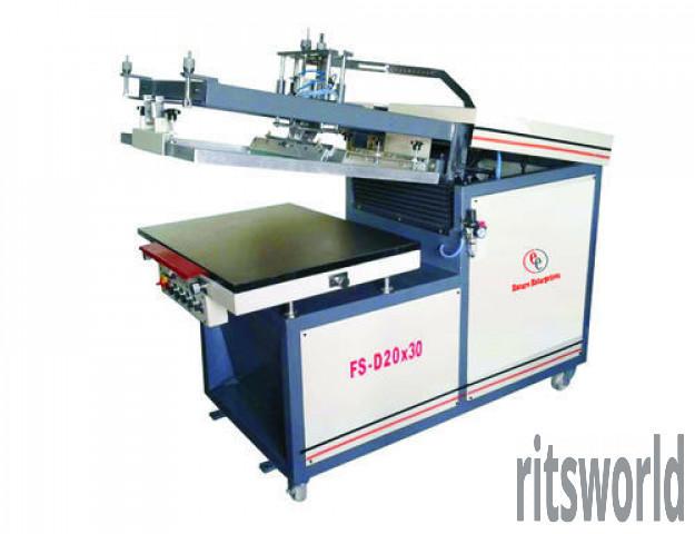 Automatic Flatbed Screen Printing Machine