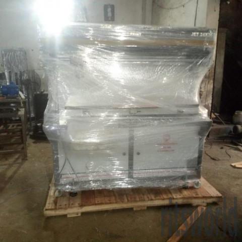 Jet Semi Automatic Pneumatic  Flatbed Screen Printing Machine