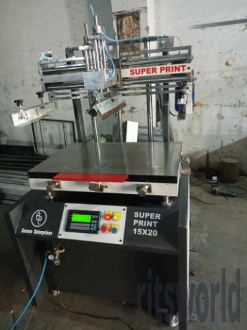 Pneumatic Super Print Screen Printing Machine