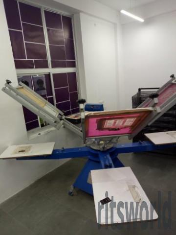 T Shirt Screen Printing Machine