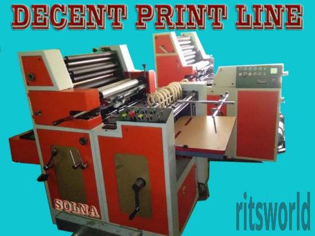 Super Solna Bag Offset Printing Machine