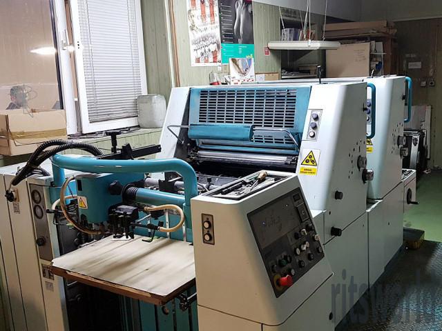 Polly 266, 1997 Offset Printing Machine