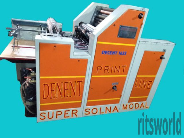Double Color Bag Offset Printing Machine