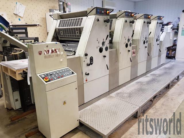 Adast Dominant 745 CPC  Offset Printing Machine