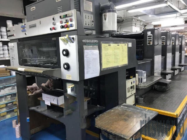 Heidelberg SM 74-4  Offset Printing Machine
