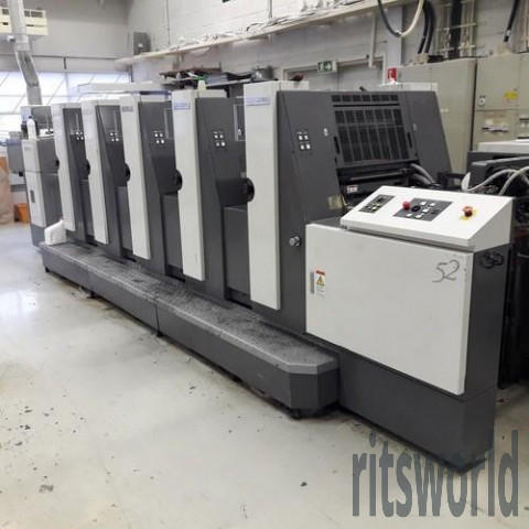 Shinohara 525 Offset Printing Machine