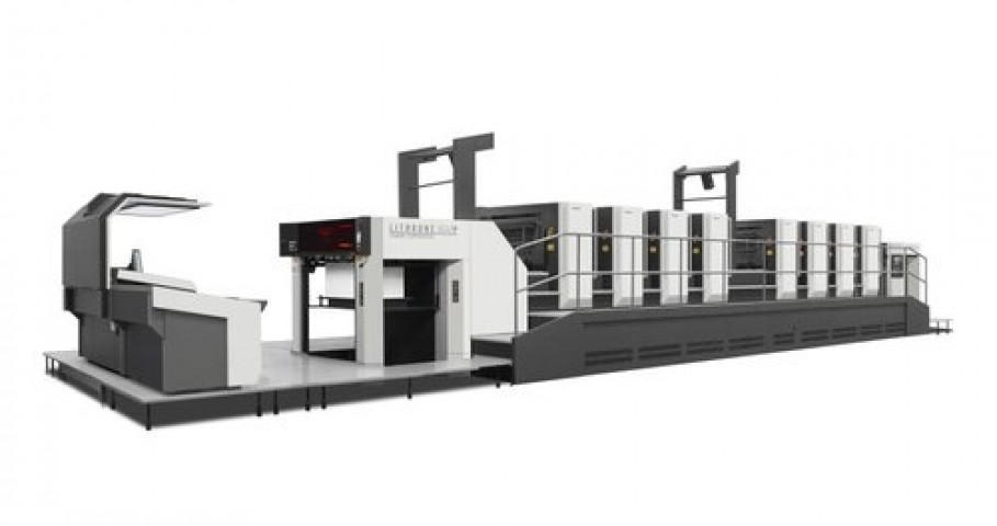 Komori Enthrone GX40P Offset Printing Press