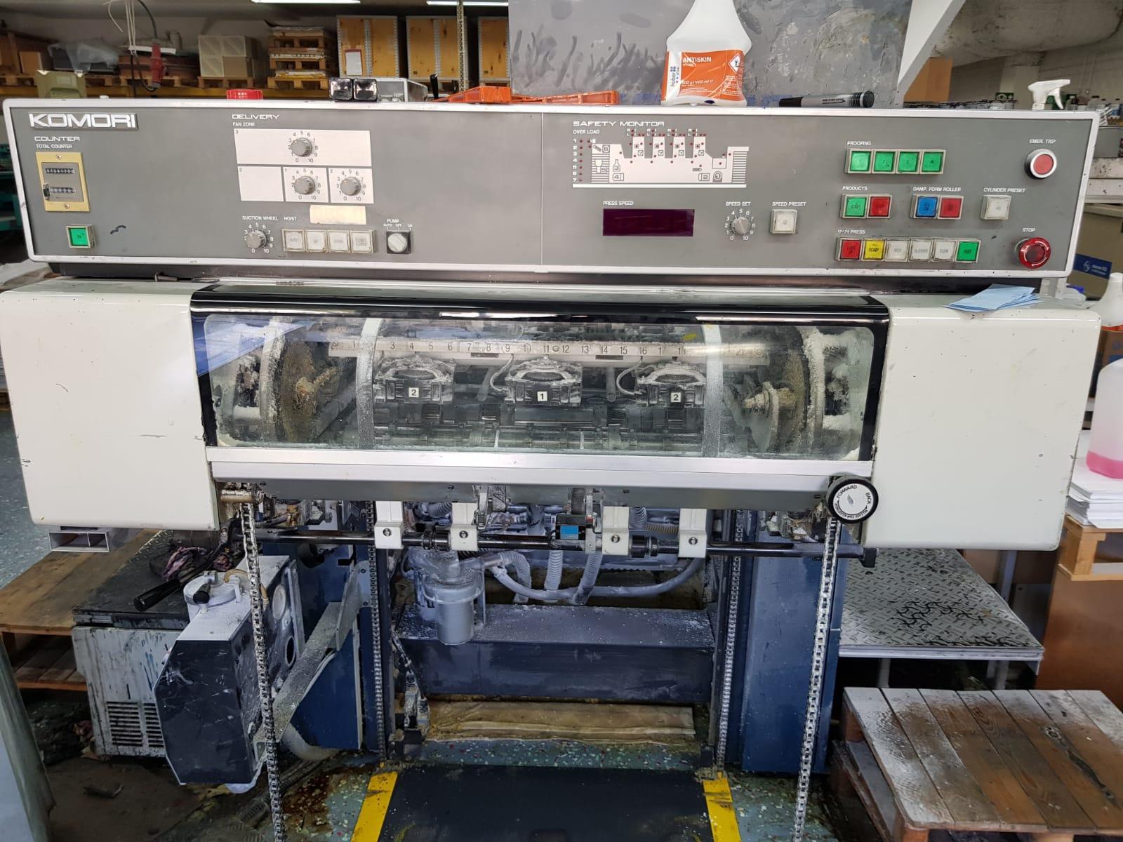 Komori Lithrone 426, 1990 Offset Printing Machine