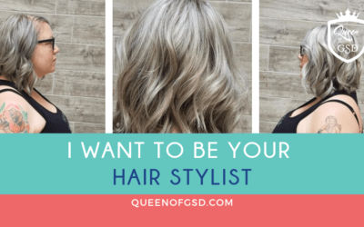 I want to be your hair stylist