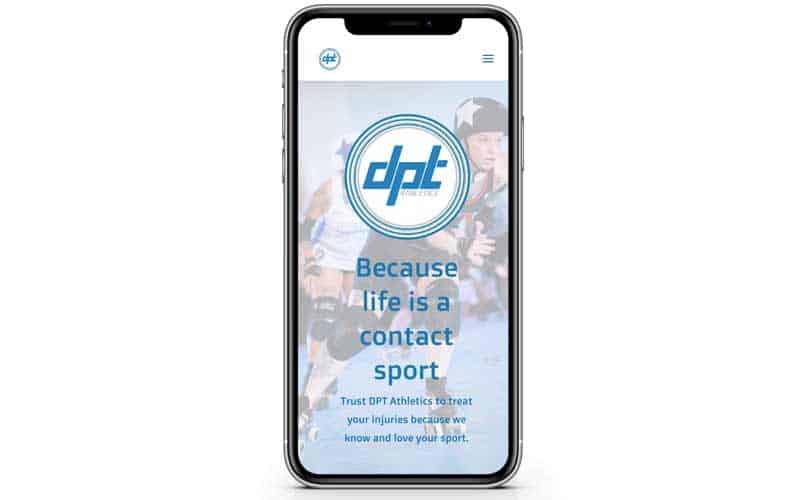 DPT Athletics Website Design