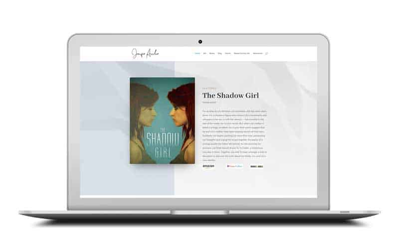 Jennifer Archer Website Design