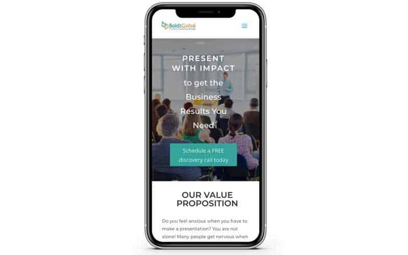Boldt Global Website Design