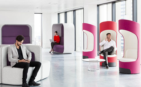 Privacy Lounge Chairs