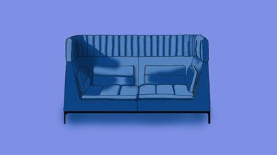 10 Best privacy high back office sofas