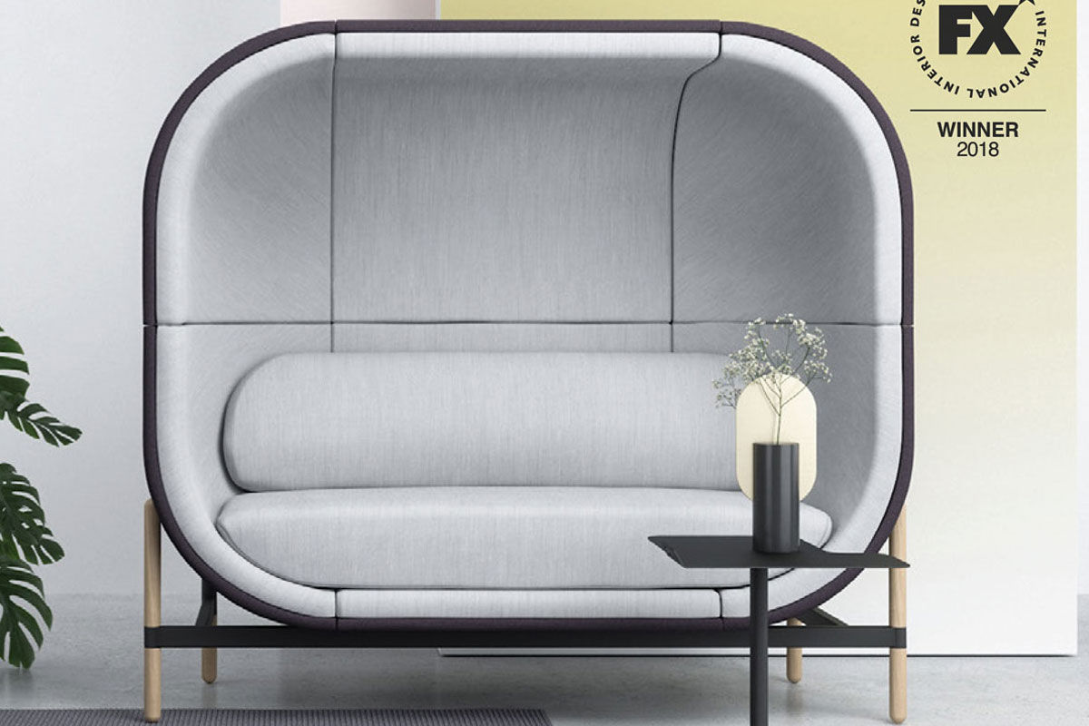 Capsule High Back Sofa