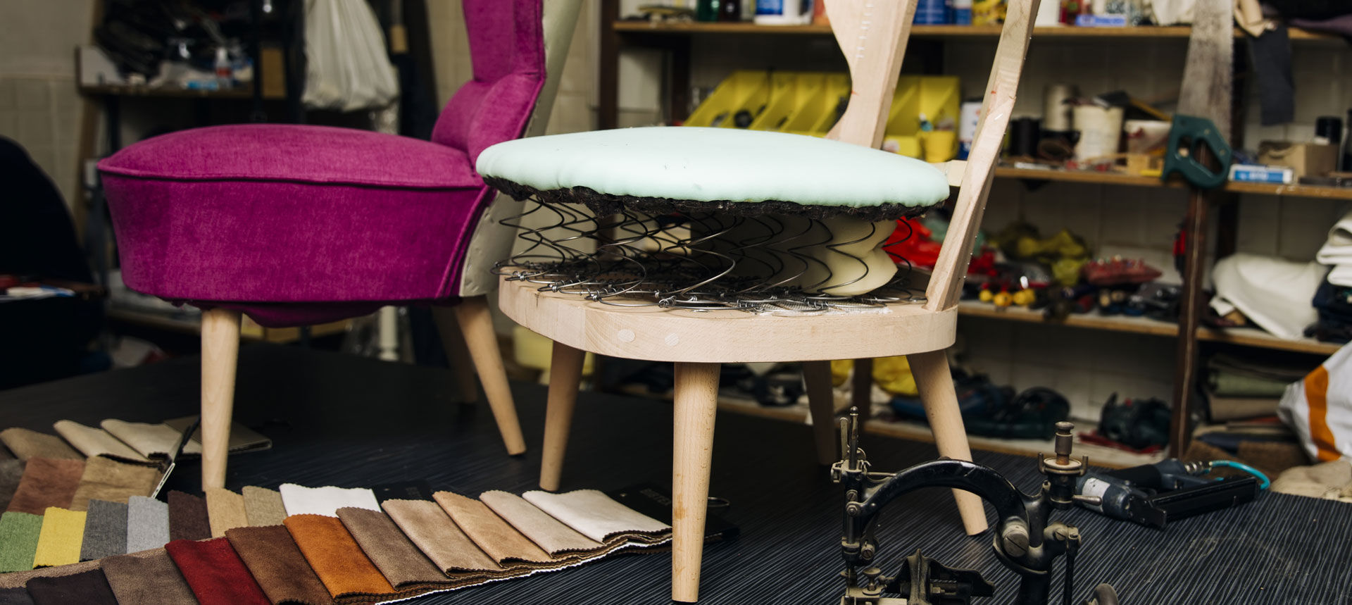 Commercial Reupholstery Services