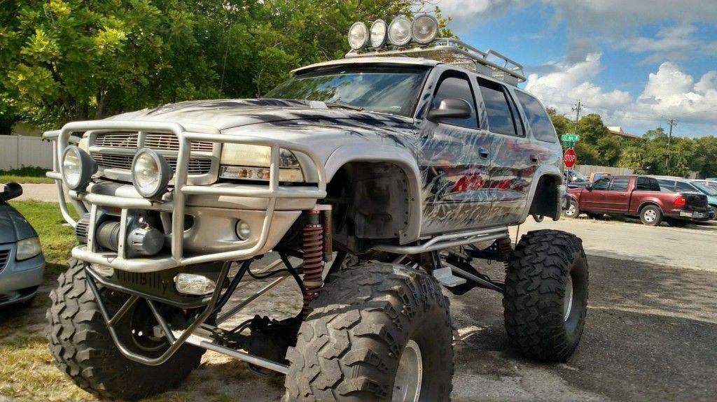 2000 Monster Dodge Durango on 49s