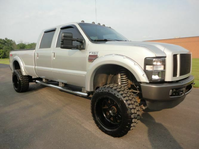 many upgrades 2008 Ford F 350 Super Duty pickup monster
