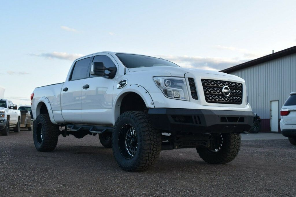 well modified 2016 Nissan Titan Pro4X monster