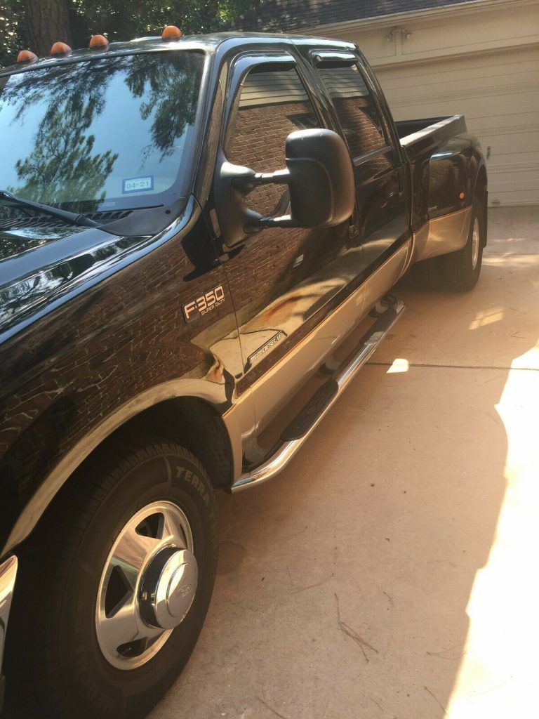 great shape 2003 Ford F 350 monster