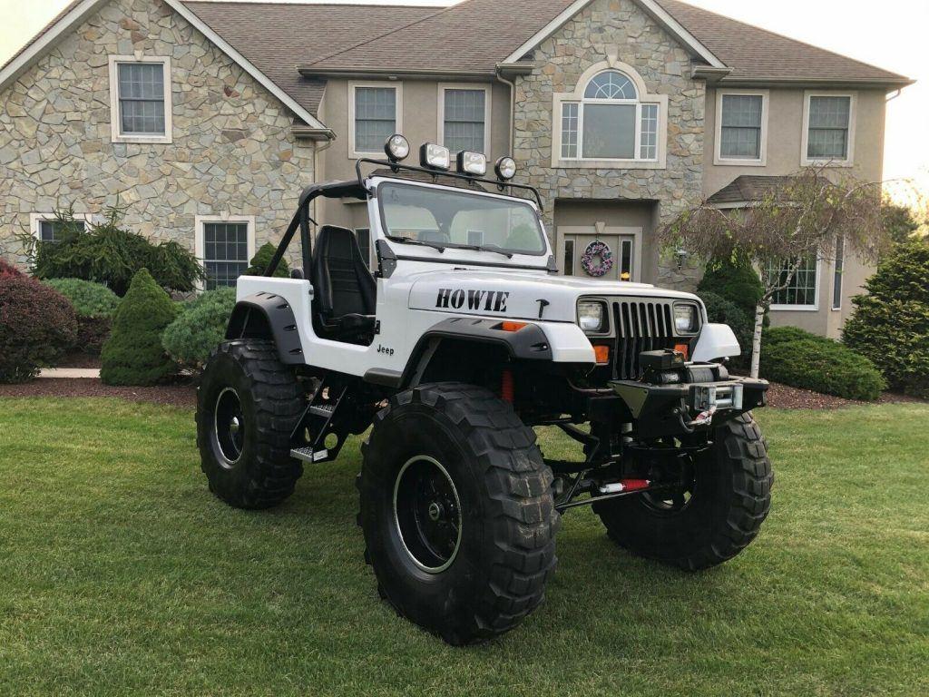 383 stroker 1989 Jeep Wrangler monster