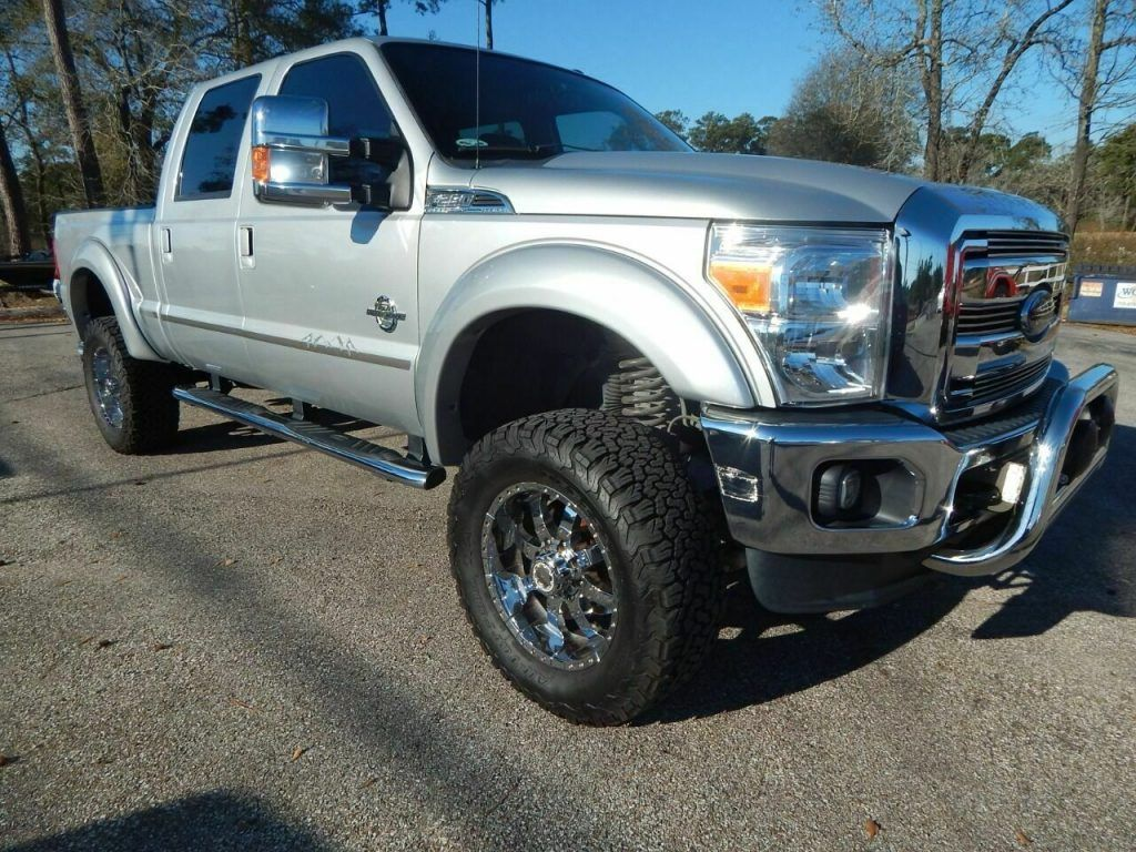 2016 Ford F 250 Lariat 4×4 4dr Crew Cab 6.8 ft. SB Pickup [well maintained]