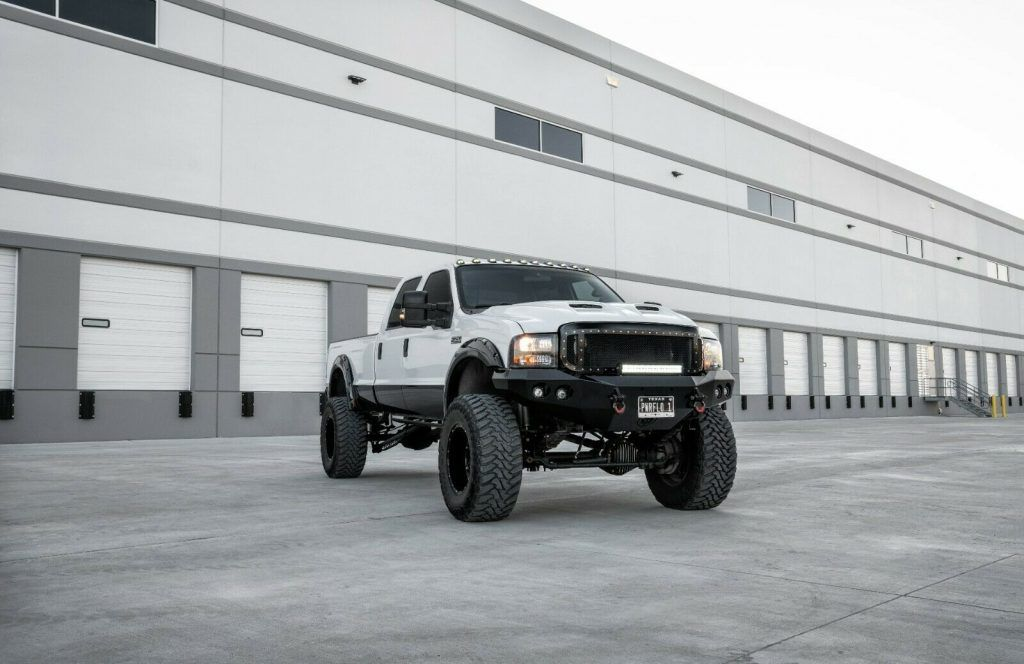 2004 Ford F-350 monster truck [almost nothing stock]