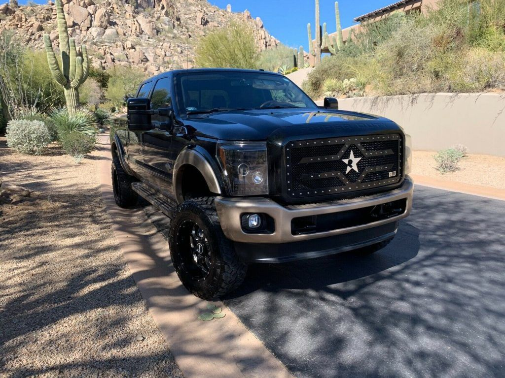 2011 Ford F-350 King Ranch monster [meticulously maintained]