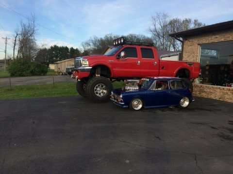2003 Ford F-350 Monster Truck [lots of modifications] for sale